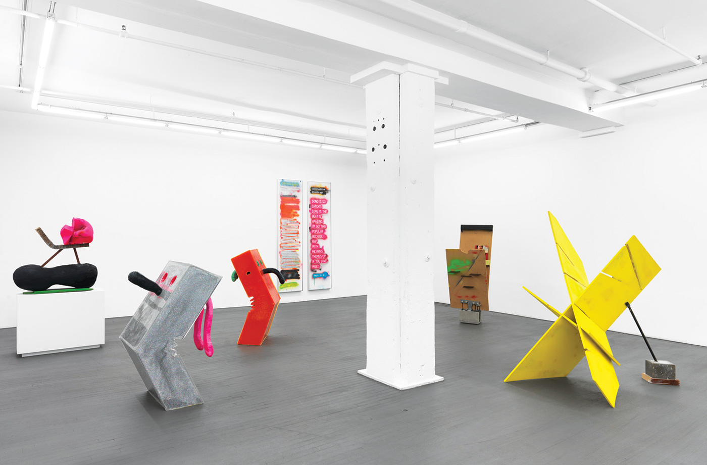 Harry Dodge - Installation View, The Cybernetic Fold