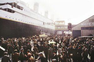 © Douglas Kirkland, Titanic Movie Set, 1996