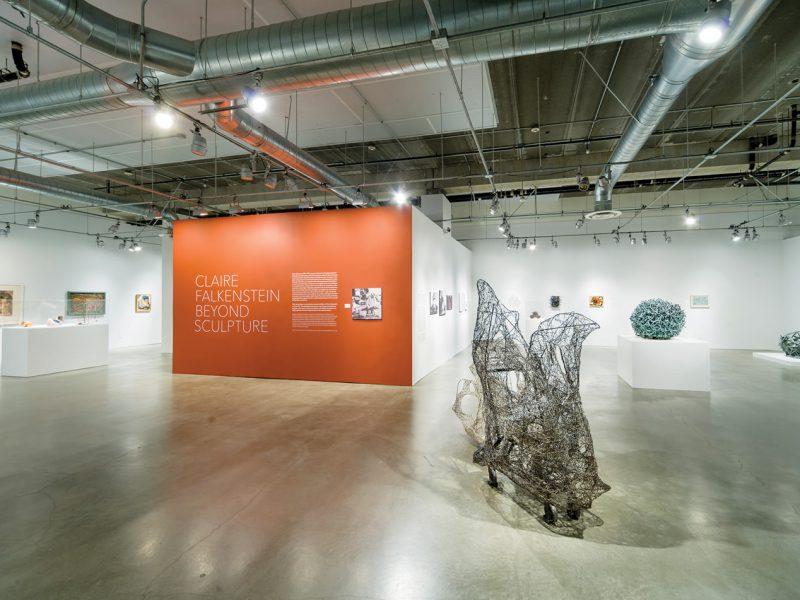 Installation view, Claire Falkenstein: Beyond Sculpture, April 17-September 11, 2016, Pasadena Museum of California Art. Photo © 2016 Don Milici.