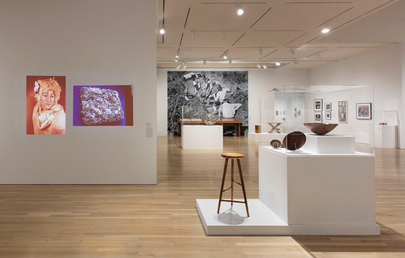 Leap Before You Look: Black Mountain College, 1933-1957 Installation view, Hammer Museum, Los Angeles, February 21–May 15, 2016. Photo: Brian Forrest.