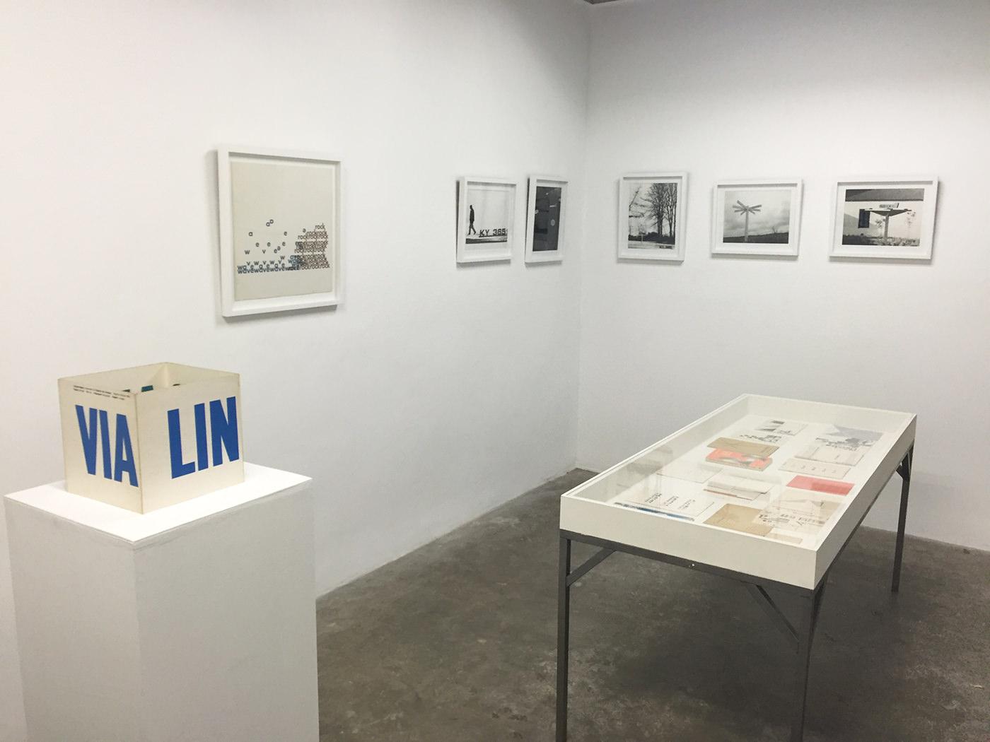Linguaviagem, Installation View