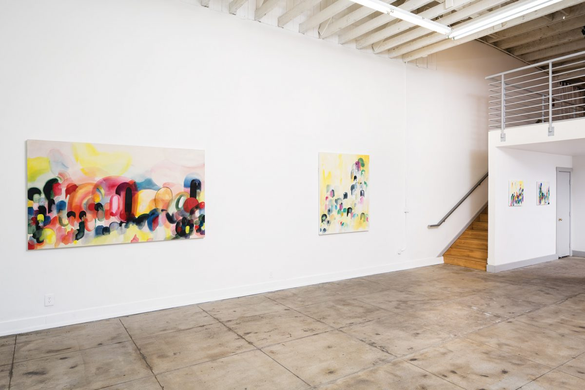 Stephanie Pryor: Reverie. Installation View.