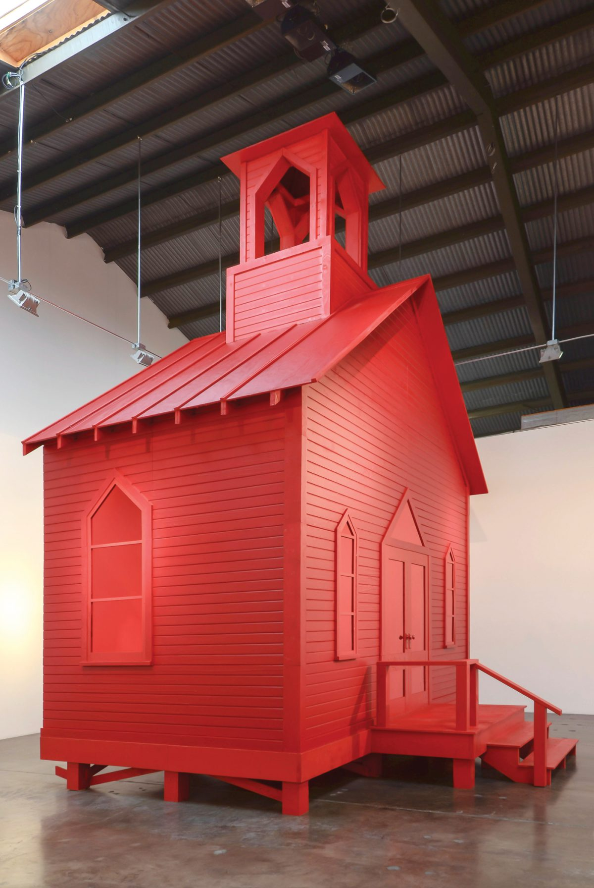 Rachel Lachowicz. House of Worship. Courtesy Shoshana Wayne Gallery.